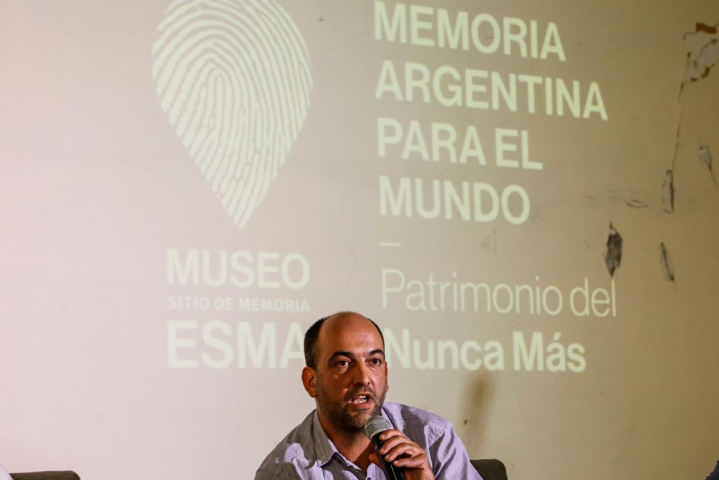 """Emiliano Fessia, de La Perla de Córdoba, destacó la importancia de """"consolidar relaciones institucionales para fortalecer los ámbitos de discusión"""" vinculados a estos temas."""