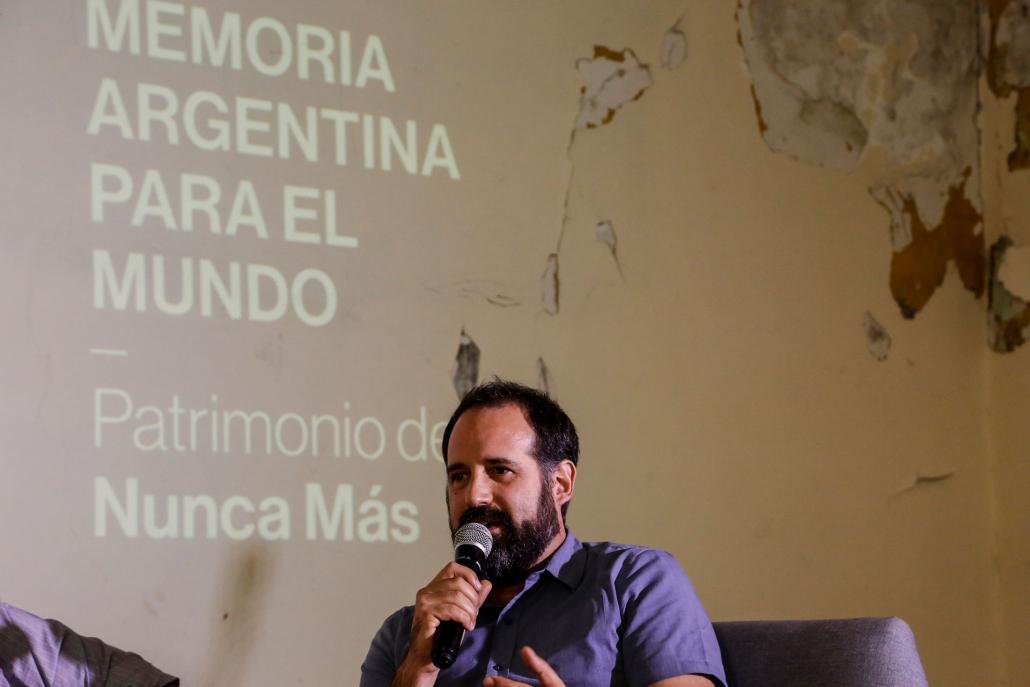 El historiador Lucas Rentero, director de la agencia Eternautas, señaló la importancia de destacar la vida que hay en esos espacios donde funcionó durante tanto tiempo el horror.