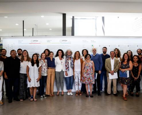 Representantes de Sitios de Memoria de Argentina se reunieron en el Instituto de Políticas Públicas en Derechos Humanos del Mercosur.