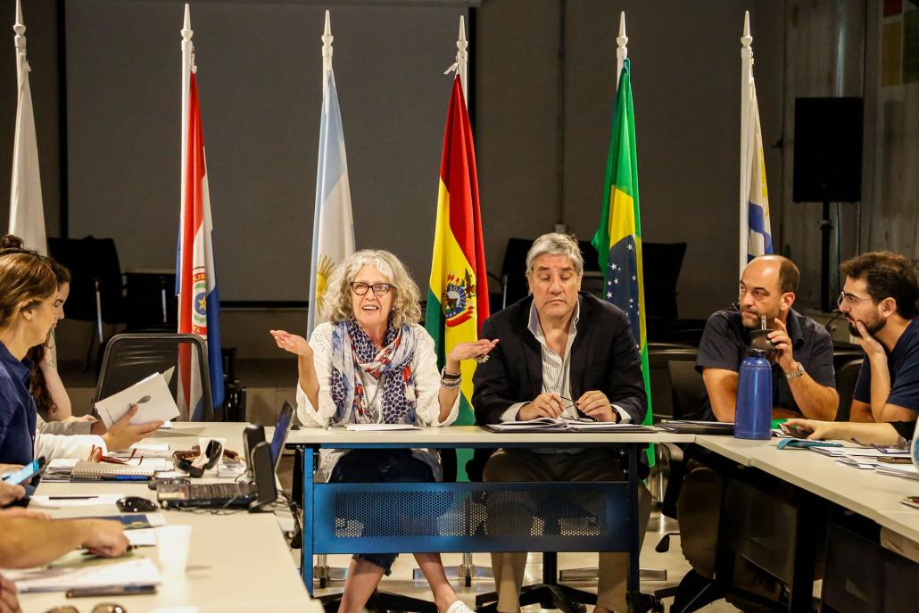 La bienvenida estuvo a cargo de la directora ejecutiva del Museo Sitio de Memoria ESMA, Alejandra Naftal.