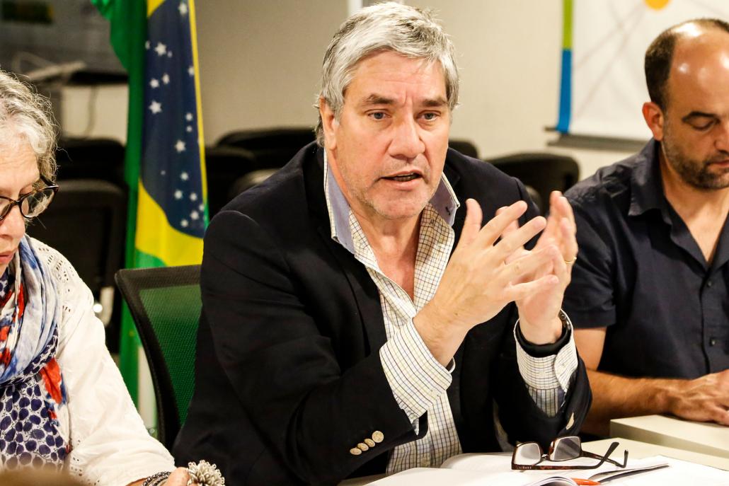 Estuvo presente el entonces secretario ejecutivo del IPPDH, Juan Miguel González Bibolini.