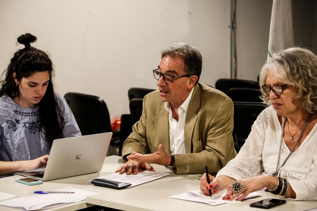 Daniel Tarnopolsky, representante del Directorio de Organismos de Derechos Humanos de la ex ESMA, destacó la importancia del apoyo nacional y regional.
