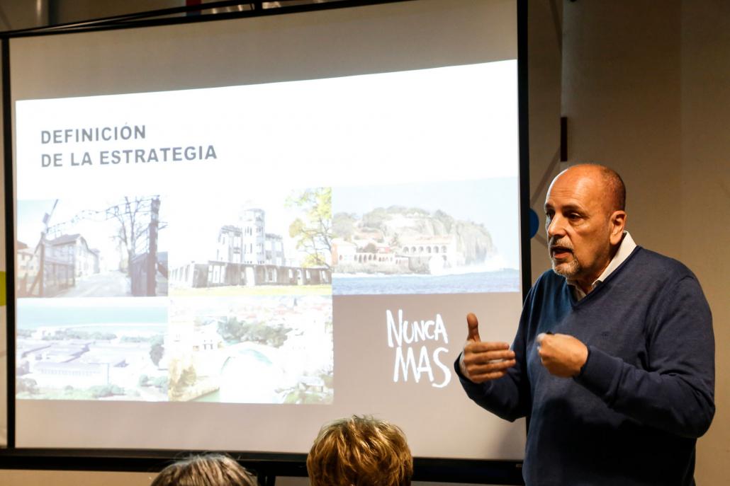 Mauricio Cohen Salama, Coordinador del Plan de Trabajo para la candidatura del Museo a Patrimonio Mundial de UNESCO, presentó ante los presentes los avances en la postulación.