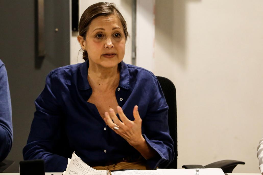 Mayki Gorosito, Coordinadora de Relaciones Internacionales para la candidatura del Museo a Patrimonio Mundial de UNESCO, se refirió a la estrategia de vinculación regional y mundial para el proyecto.